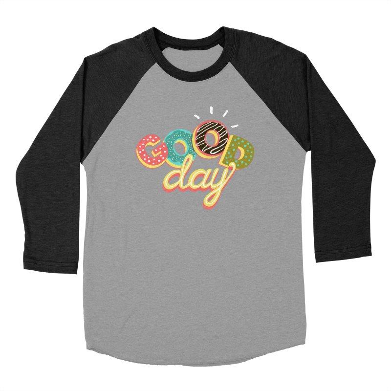 GOOD DAY Men's Baseball Triblend Longsleeve T-Shirt by Winterglaze's Artist Shop