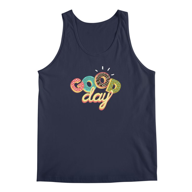 GOOD DAY Men's Regular Tank by Winterglaze's Artist Shop