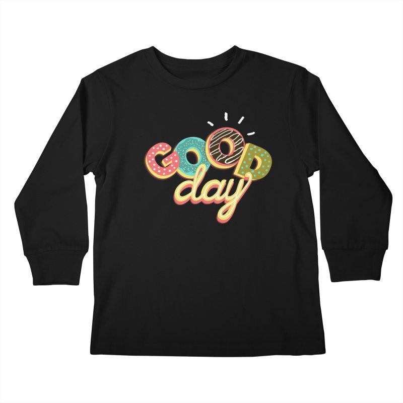 GOOD DAY Kids Longsleeve T-Shirt by Winterglaze's Artist Shop