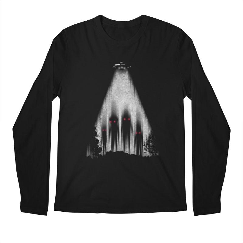 We Come In Peace Men's Longsleeve T-Shirt by Winterglaze's Artist Shop