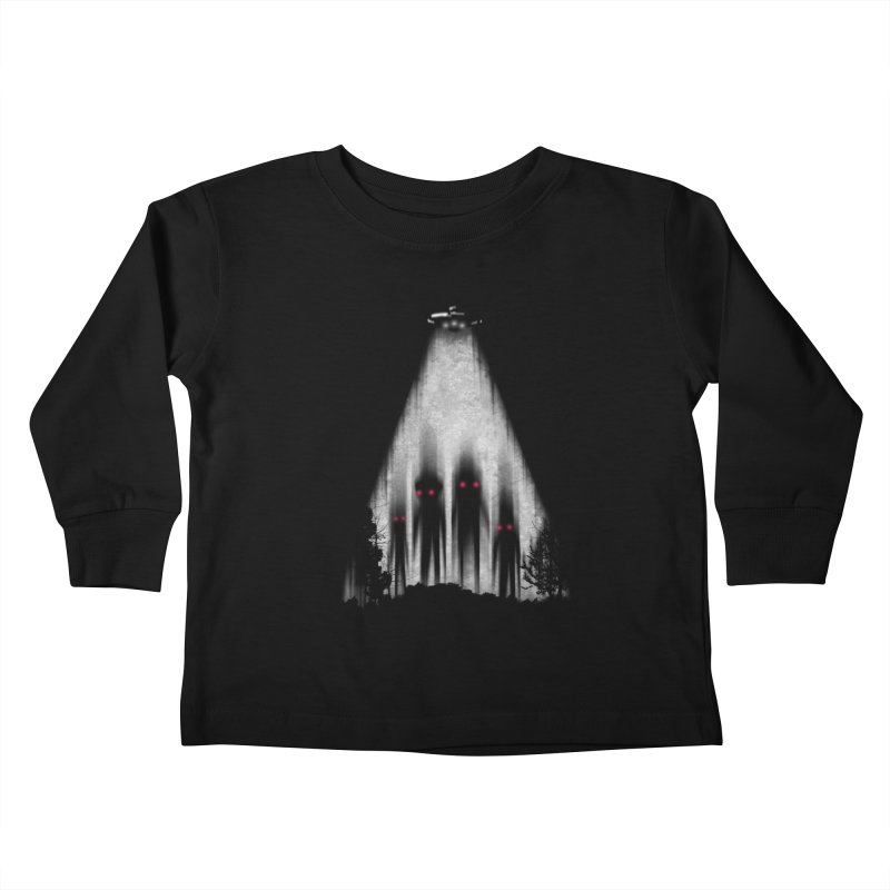 We Come In Peace Kids Toddler Longsleeve T-Shirt by Winterglaze's Artist Shop