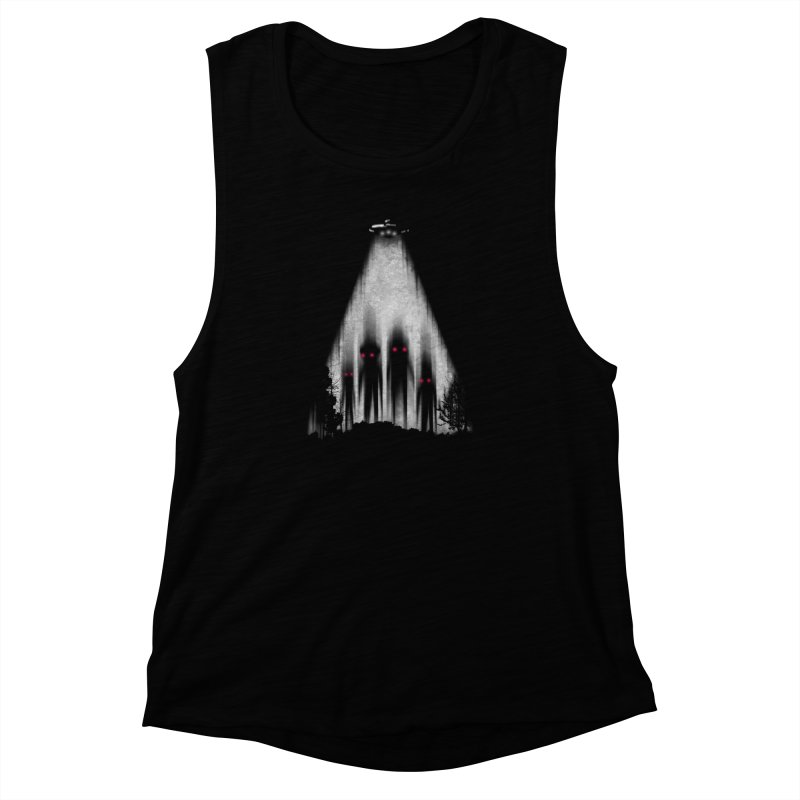 We Come In Peace Women's Muscle Tank by Winterglaze's Artist Shop