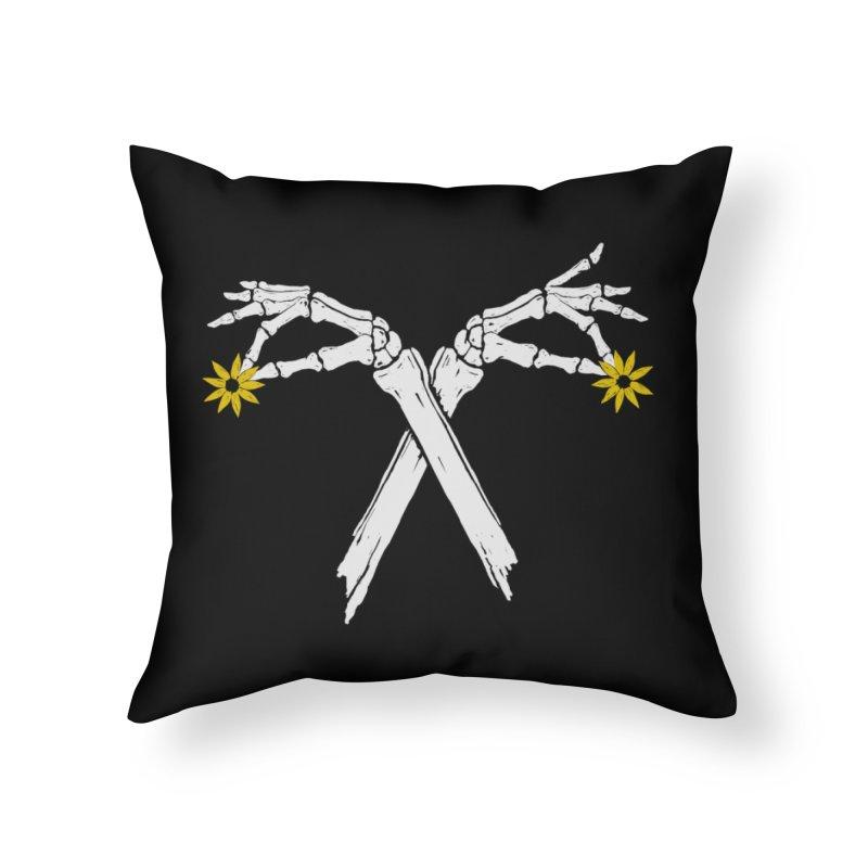 DAINTY DAISIES Home Throw Pillow by Winterglaze's Artist Shop