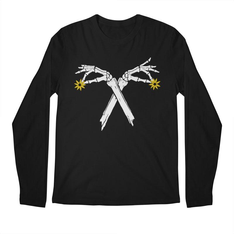 DAINTY DAISIES Men's Regular Longsleeve T-Shirt by Winterglaze's Artist Shop