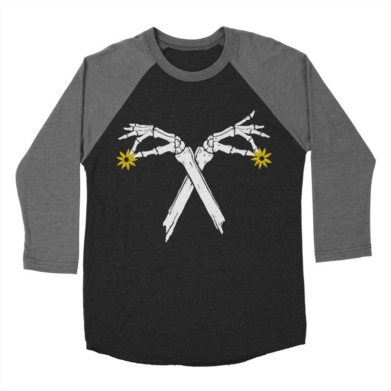 DAINTY DAISIES Women's Baseball Triblend Longsleeve T-Shirt by Winterglaze's Artist Shop