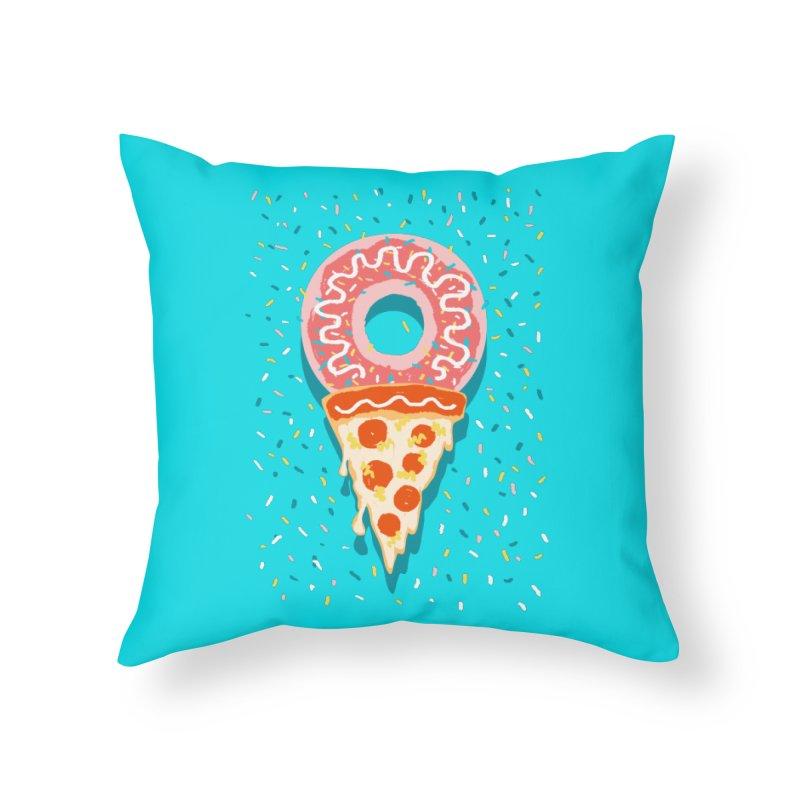 I LOVE ICE CREAM Home Throw Pillow by Winterglaze's Artist Shop