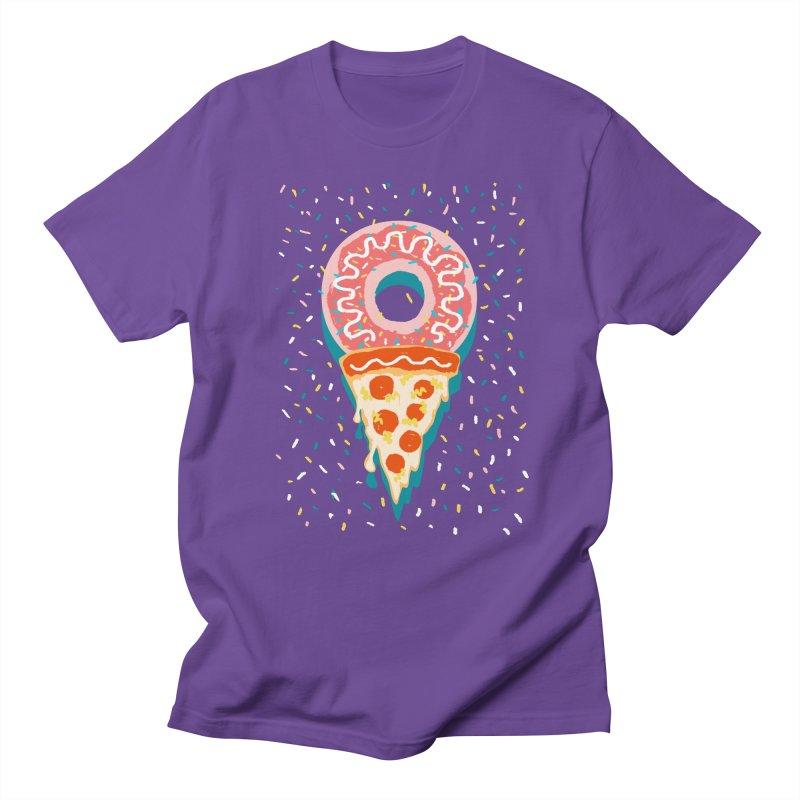 I LOVE ICE CREAM Men's Regular T-Shirt by Winterglaze's Artist Shop