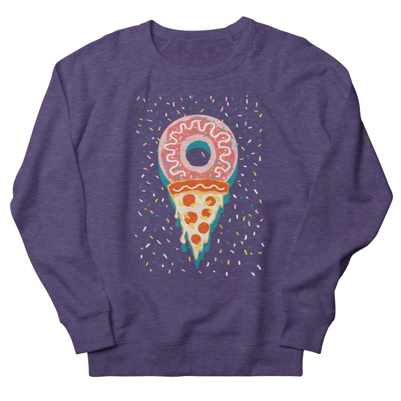 I LOVE ICE CREAM Women's French Terry Sweatshirt by Winterglaze's Artist Shop