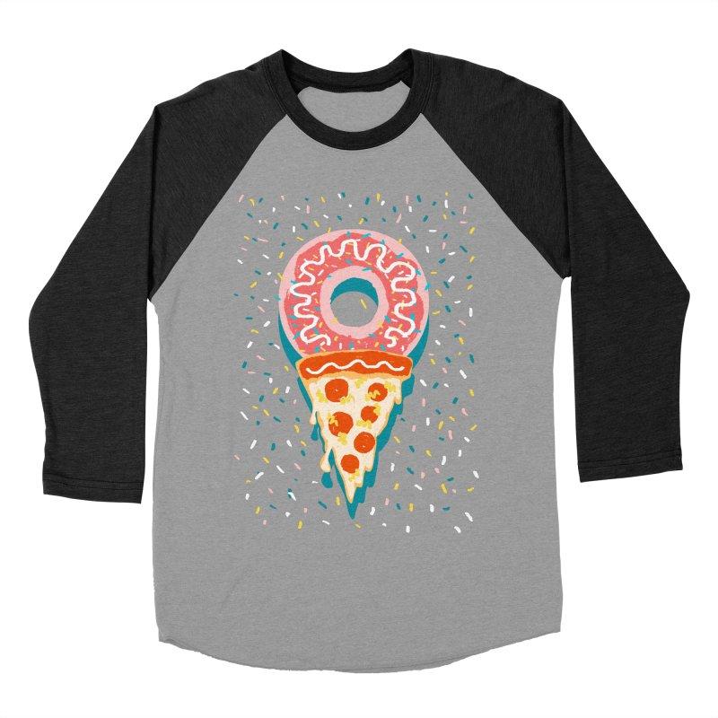 I LOVE ICE CREAM Men's Baseball Triblend Longsleeve T-Shirt by Winterglaze's Artist Shop