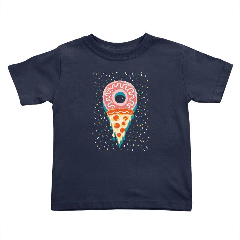I LOVE ICE CREAM Kids Toddler T-Shirt by Winterglaze's Artist Shop