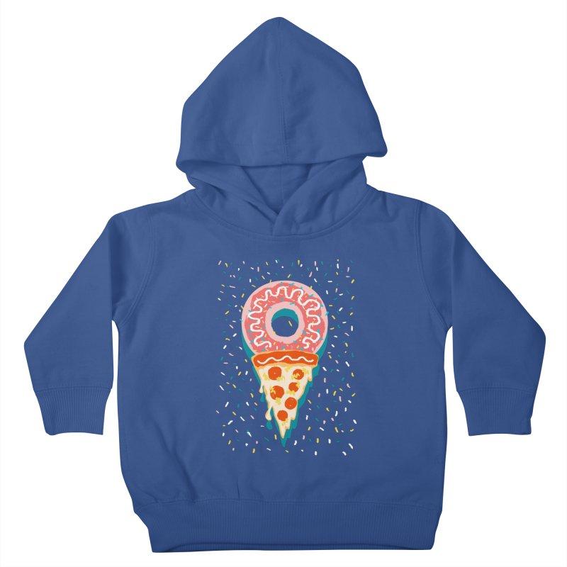 I LOVE ICE CREAM Kids Toddler Pullover Hoody by Winterglaze's Artist Shop