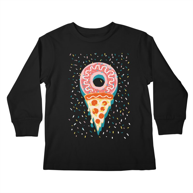 I LOVE ICE CREAM Kids Longsleeve T-Shirt by Winterglaze's Artist Shop