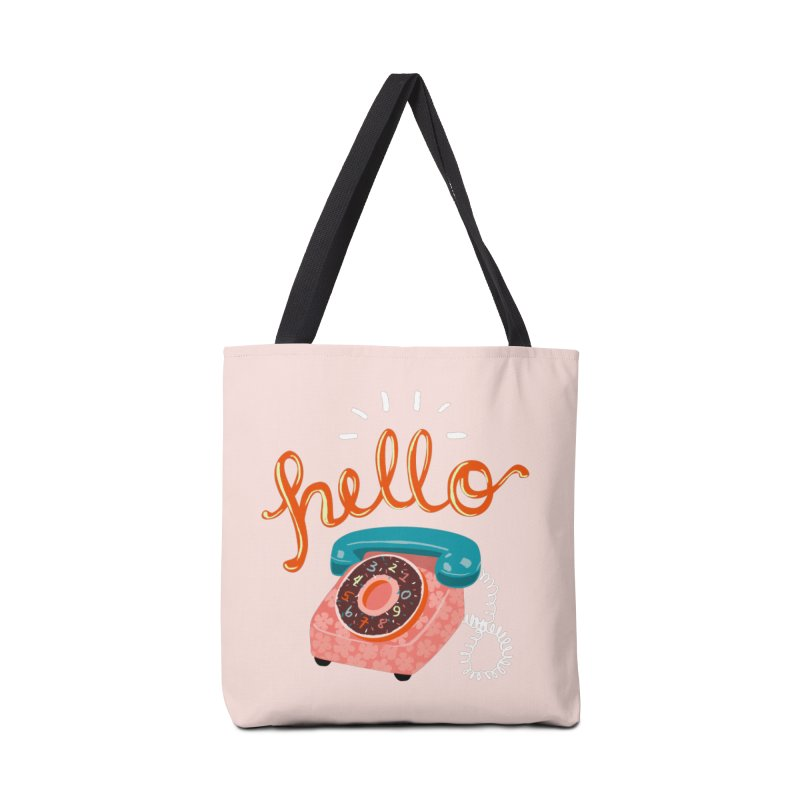 hello Accessories Bag by Winterglaze's Artist Shop