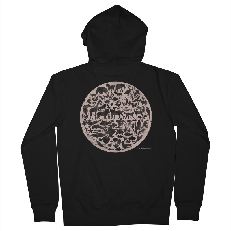 The Inhabitants Women's Zip-Up Hoody by Winterglaze's Artist Shop