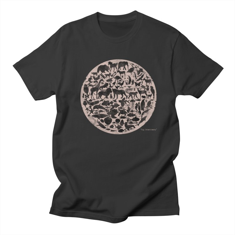The Inhabitants Men's T-shirt by Winterglaze's Artist Shop