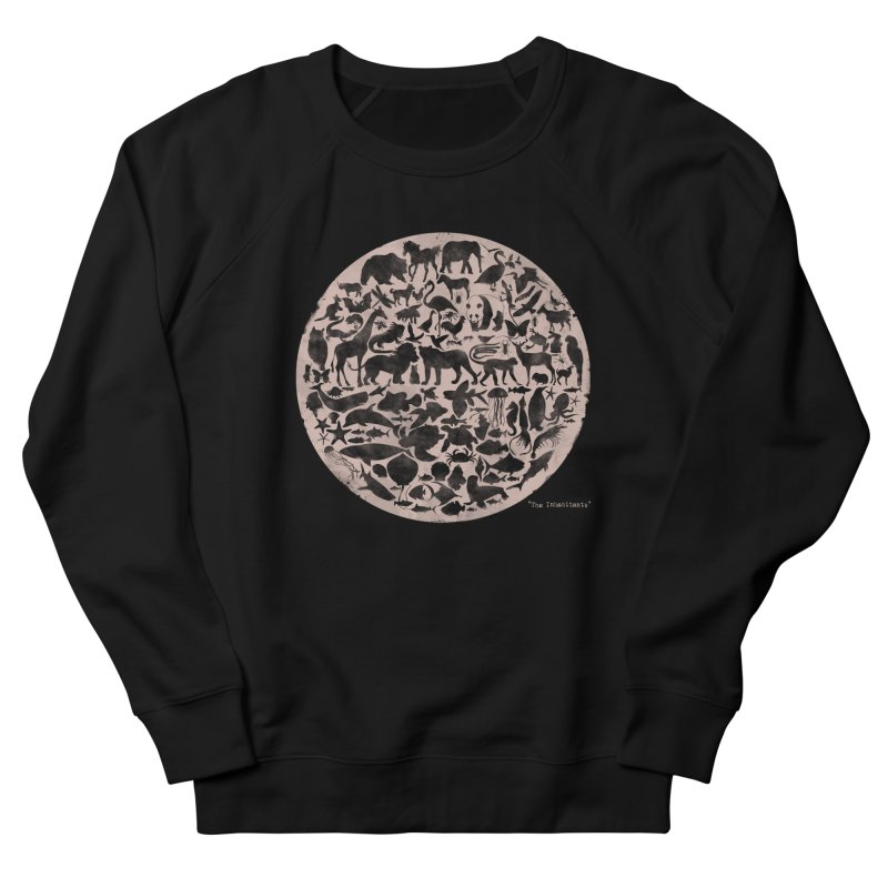 The Inhabitants Women's Sweatshirt by Winterglaze's Artist Shop