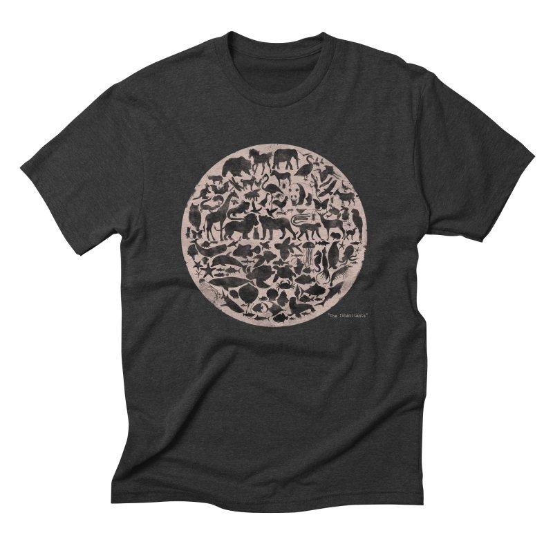 The Inhabitants Men's Triblend T-Shirt by Winterglaze's Artist Shop
