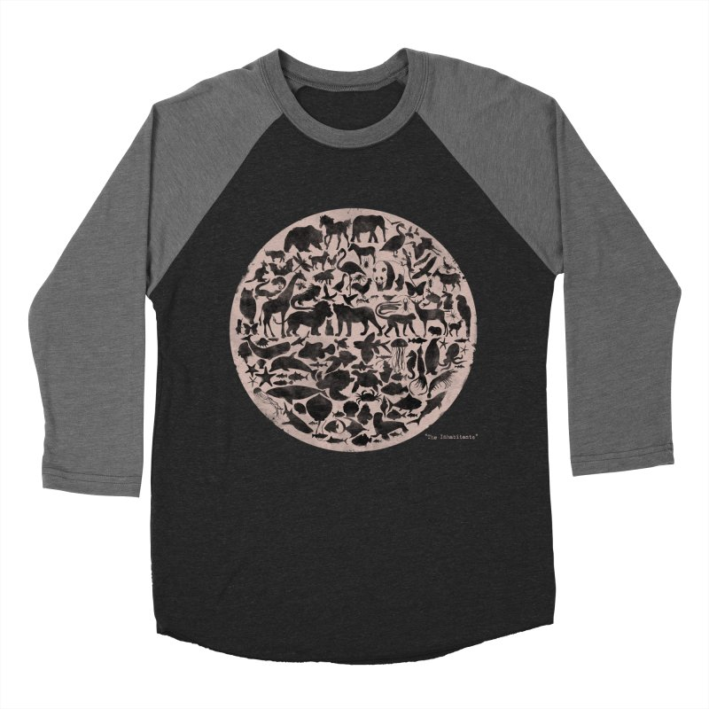 The Inhabitants Women's Baseball Triblend Longsleeve T-Shirt by Winterglaze's Artist Shop