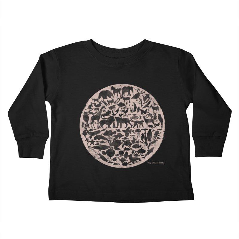 The Inhabitants Kids Toddler Longsleeve T-Shirt by Winterglaze's Artist Shop