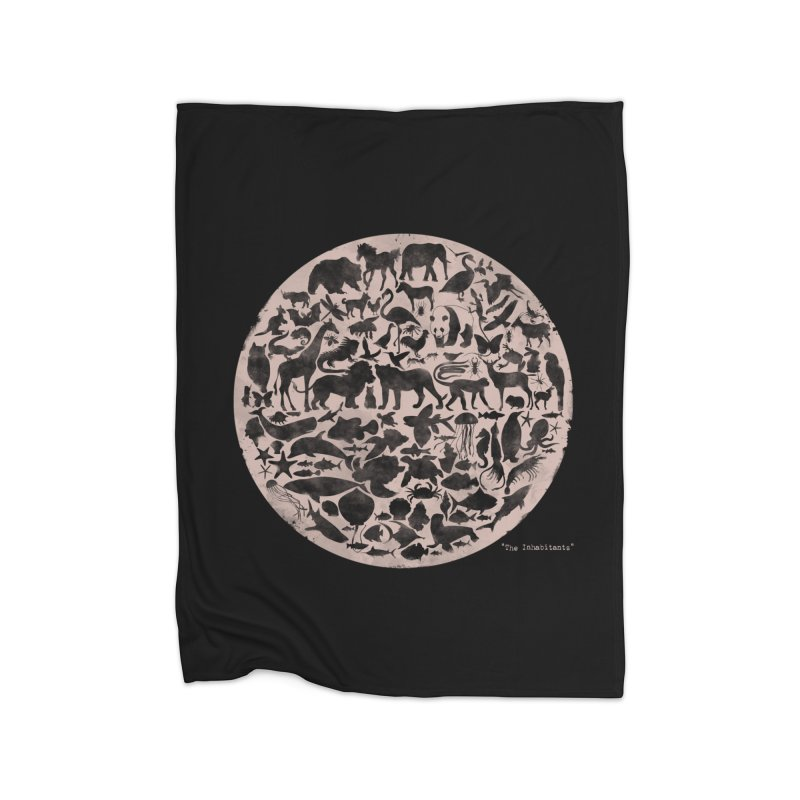 The Inhabitants Home Blanket by Winterglaze's Artist Shop