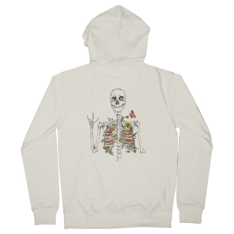 Yeah Spring! Women's French Terry Zip-Up Hoody by Winterglaze's Artist Shop