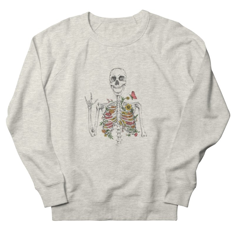 Yeah Spring! Women's French Terry Sweatshirt by Winterglaze's Artist Shop