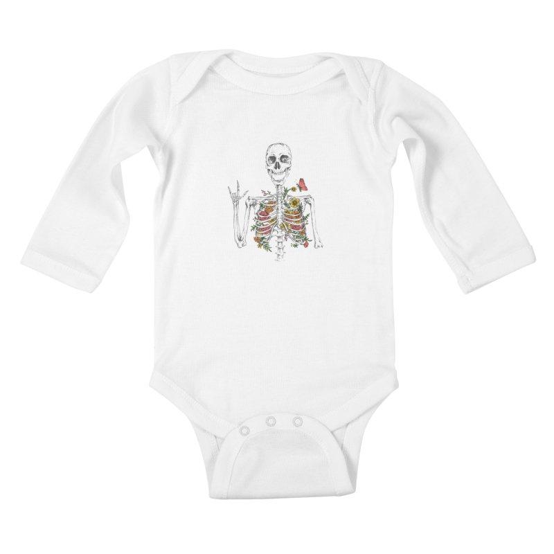 Yeah Spring! Kids Baby Longsleeve Bodysuit by Winterglaze's Artist Shop