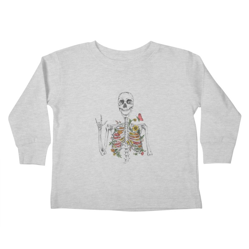 Yeah Spring! Kids Toddler Longsleeve T-Shirt by Winterglaze's Artist Shop