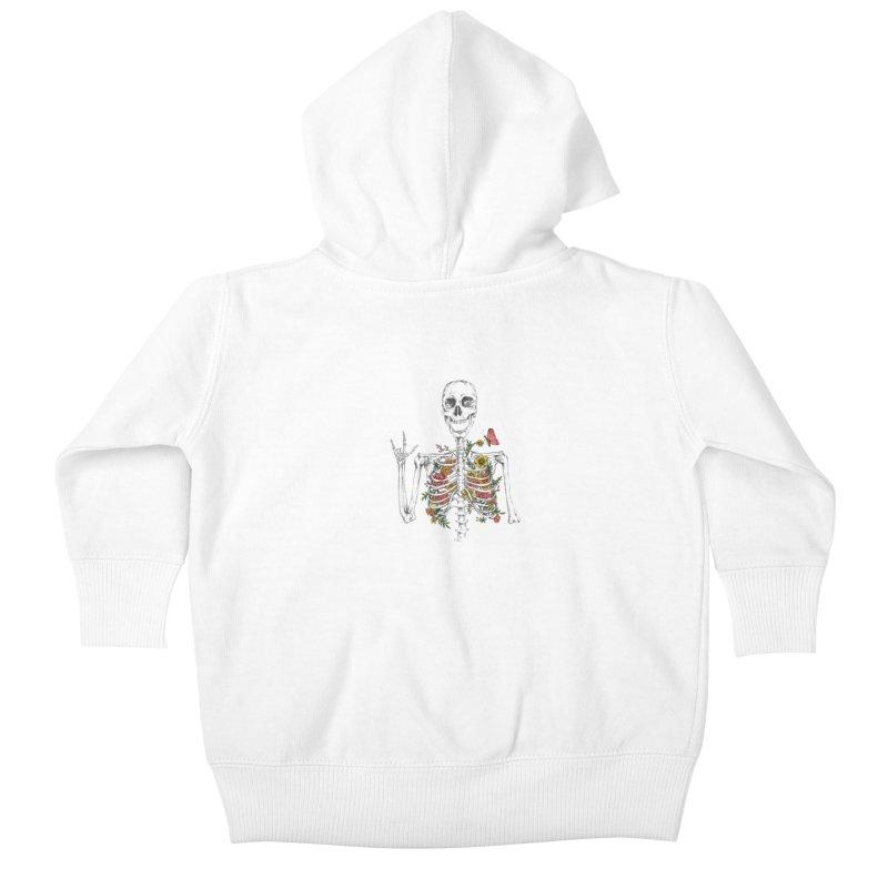 Yeah Spring! Kids Baby Zip-Up Hoody by Winterglaze's Artist Shop