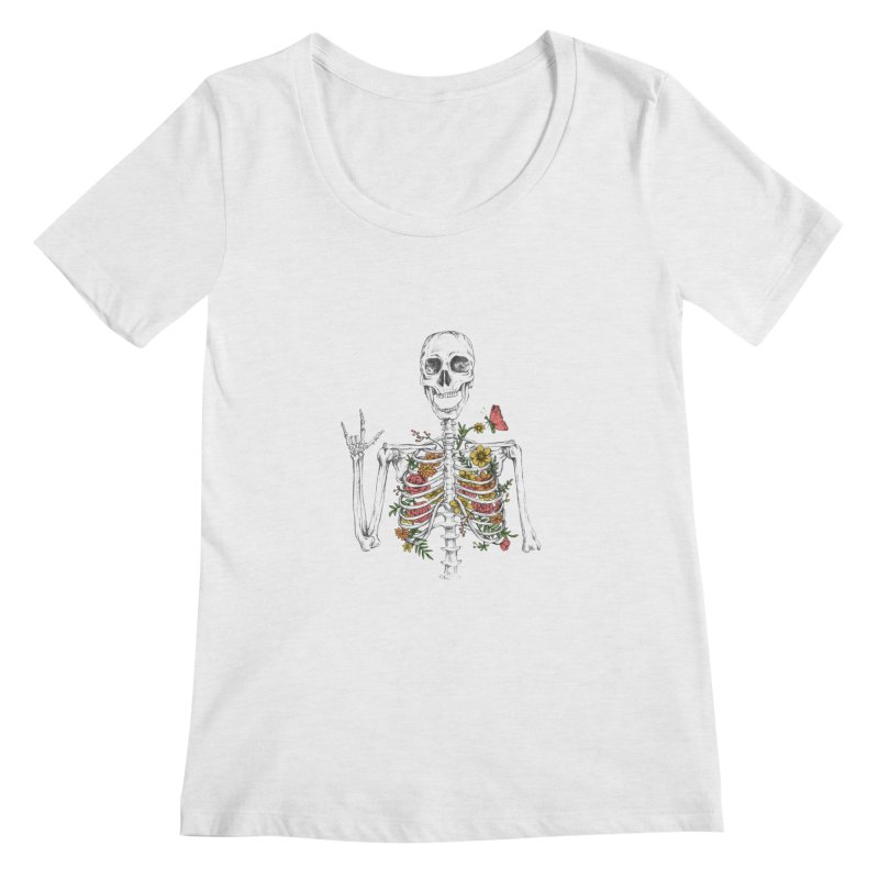 Yeah Spring! Women's Regular Scoop Neck by Winterglaze's Artist Shop