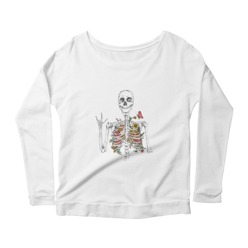 Yeah Spring! Women's Scoop Neck Longsleeve T-Shirt by Winterglaze's Artist Shop