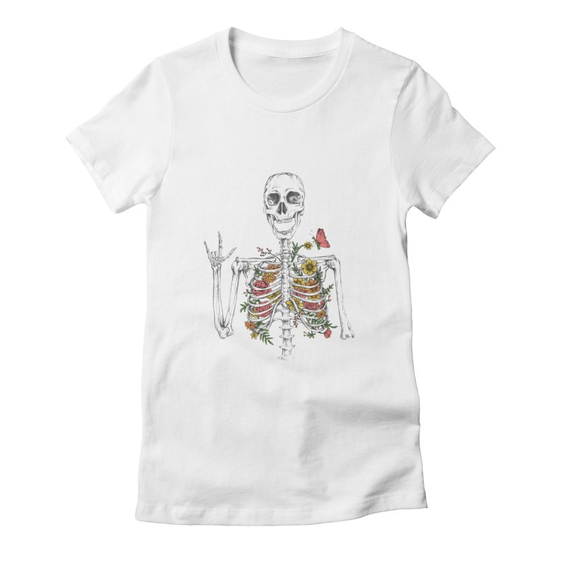 Yeah Spring! Women's Fitted T-Shirt by Winterglaze's Artist Shop