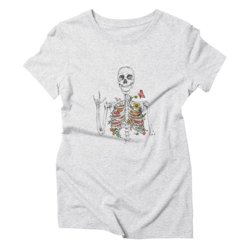 Yeah Spring! Women's Triblend T-Shirt by Winterglaze's Artist Shop