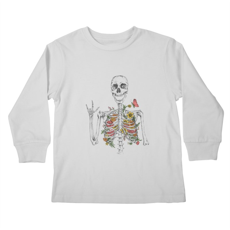 Yeah Spring! Kids Longsleeve T-Shirt by Winterglaze's Artist Shop