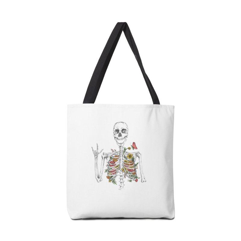 Yeah Spring! Accessories Tote Bag Bag by Winterglaze's Artist Shop