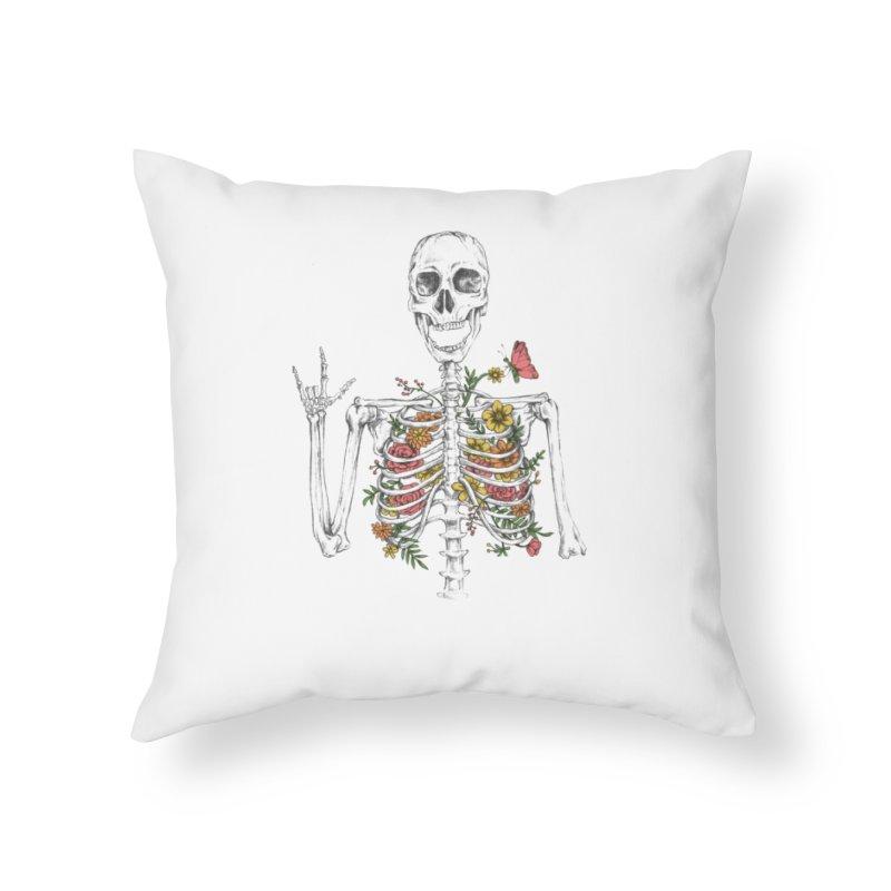 Yeah Spring! Home Throw Pillow by Winterglaze's Artist Shop