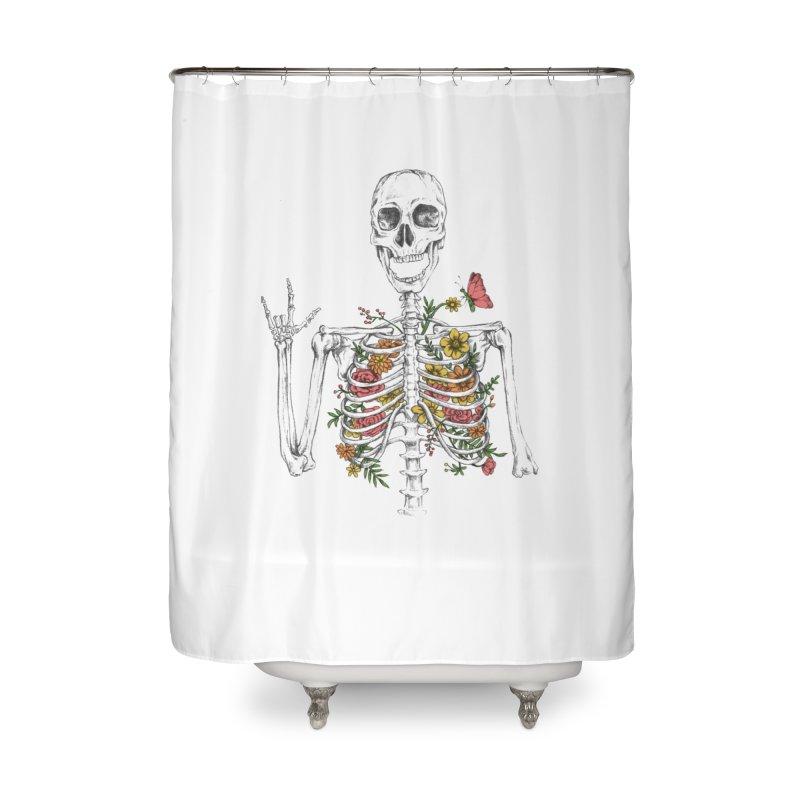 Yeah Spring! Home Shower Curtain by Winterglaze's Artist Shop