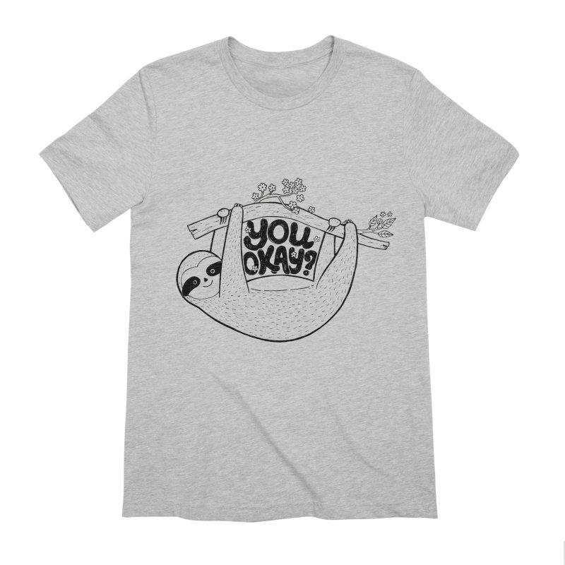 You Okay? Men's Extra Soft T-Shirt by Winterglaze's Artist Shop