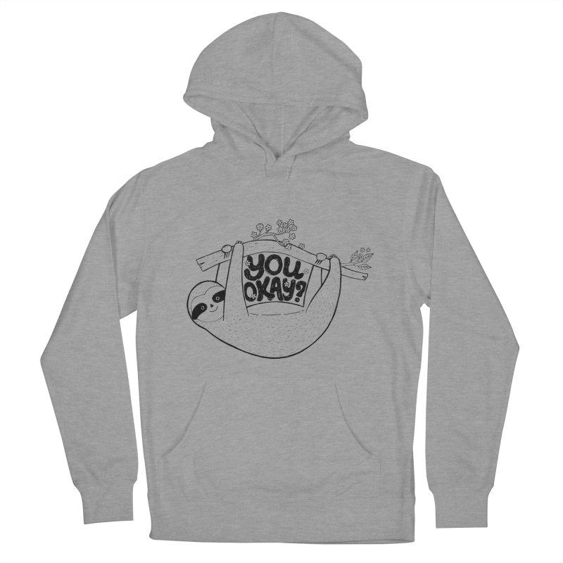 You Okay? Women's Pullover Hoody by Winterglaze's Artist Shop