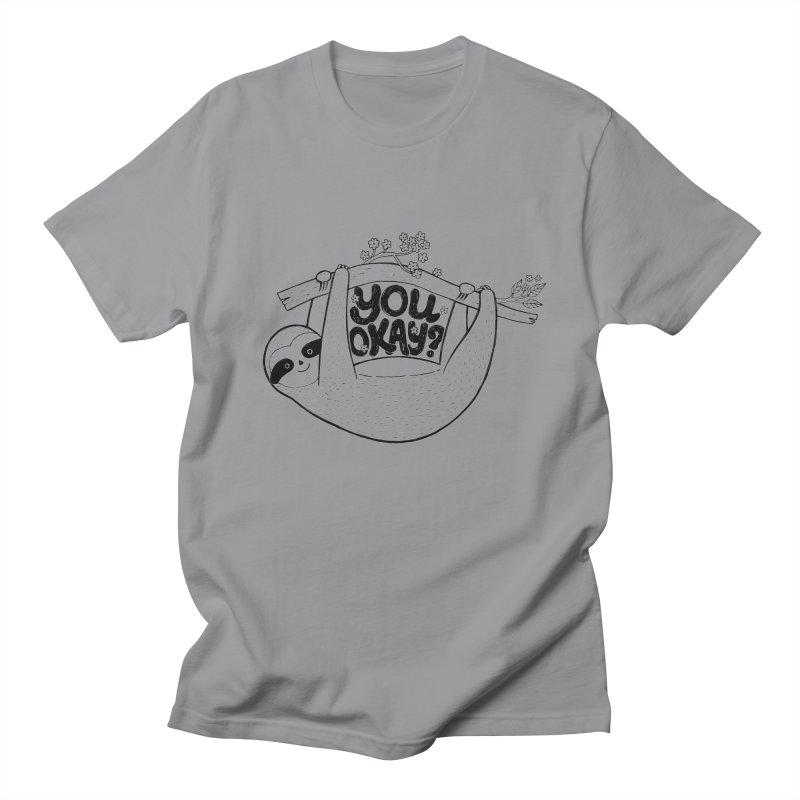 You Okay? Women's Regular Unisex T-Shirt by Winterglaze's Artist Shop