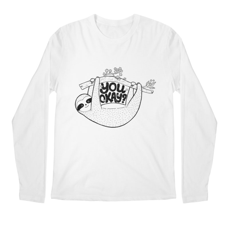 You Okay? Men's Regular Longsleeve T-Shirt by Winterglaze's Artist Shop