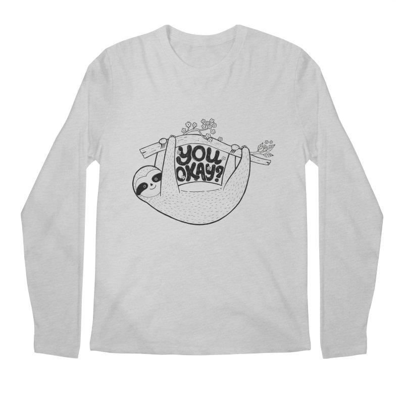 You Okay? Men's Regular Longsleeve T-Shirt by Winterglaze's Artist Shop