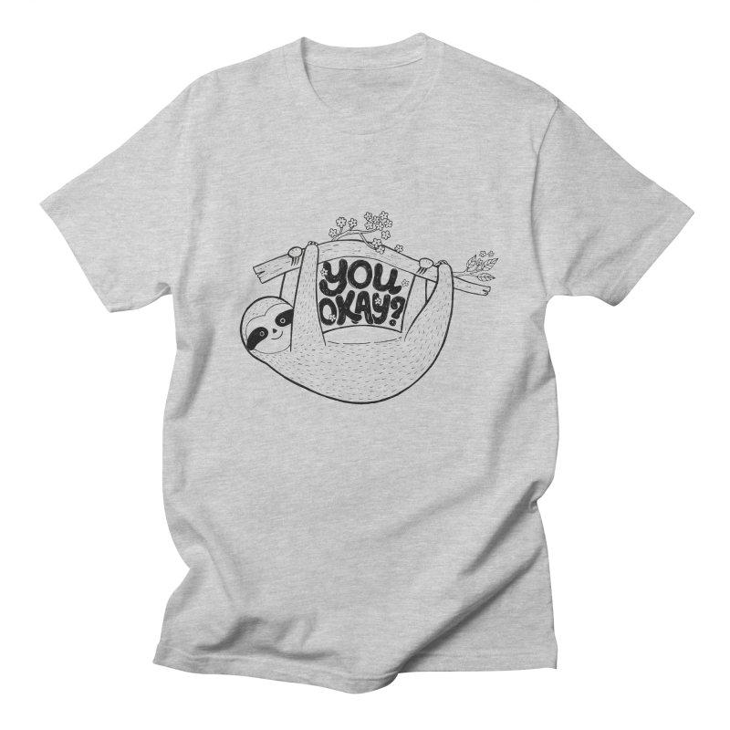 You Okay? Men's Regular T-Shirt by Winterglaze's Artist Shop
