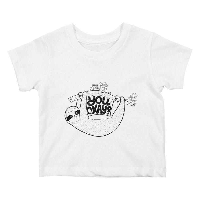 You Okay? Kids Baby T-Shirt by Winterglaze's Artist Shop