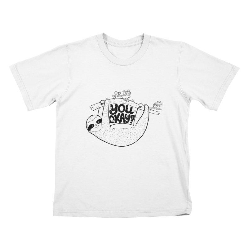 You Okay? Kids T-Shirt by Winterglaze's Artist Shop