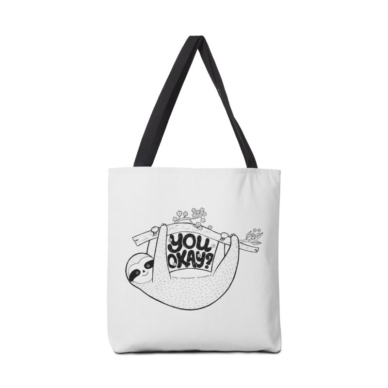 You Okay? Accessories Bag by Winterglaze's Artist Shop