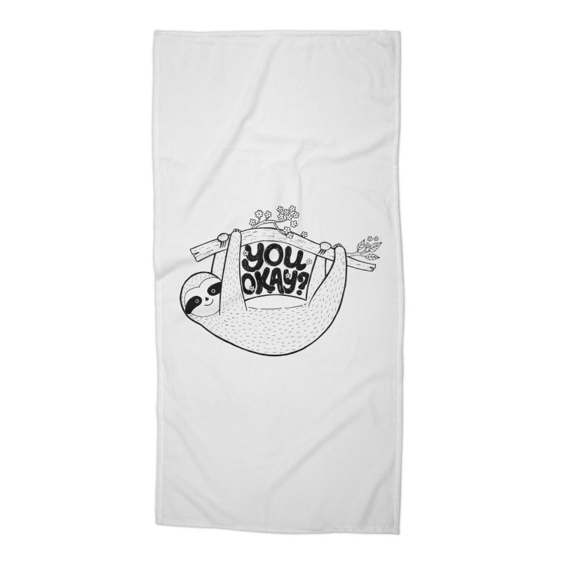 You Okay? Accessories Beach Towel by Winterglaze's Artist Shop