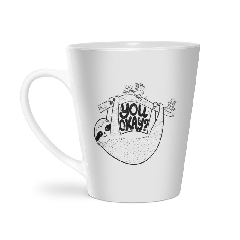 You Okay? Accessories Latte Mug by Winterglaze's Artist Shop
