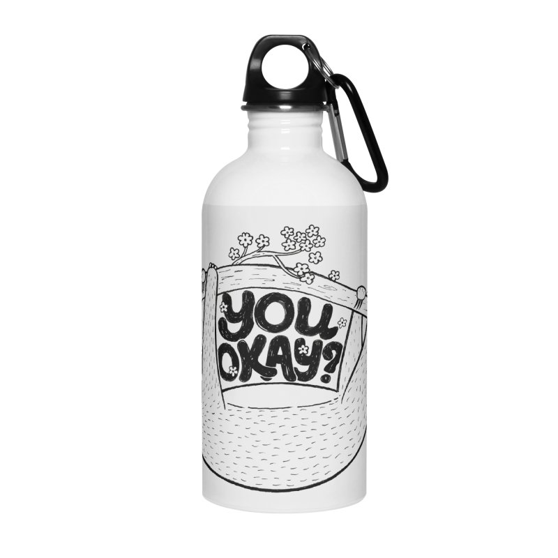 You Okay? Accessories Water Bottle by Winterglaze's Artist Shop