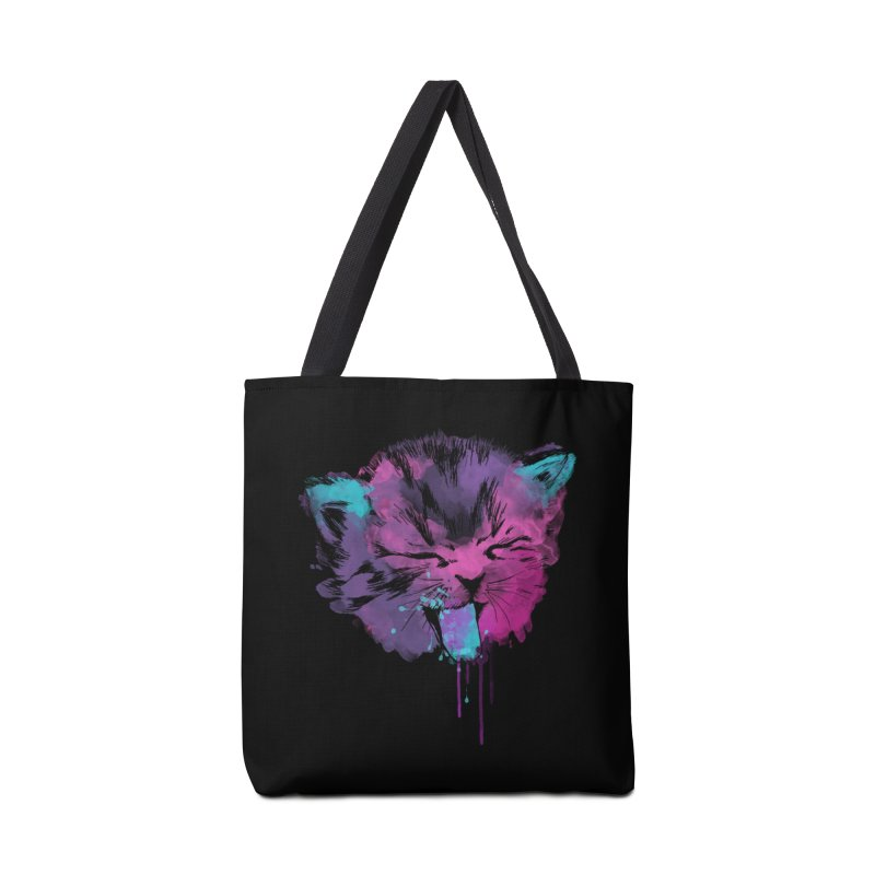 CAT SPLASH Accessories Bag by Winterglaze's Artist Shop
